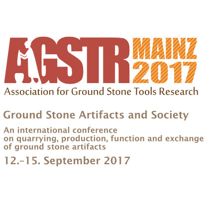 GROUND STONE ARTIFACTS AND SOCIETY An international conference on quarrying, production, function and exchange of ground stone artifacts